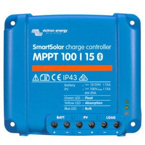 Regulador de Carga SmartSolar MPPT 100/15 (12/24V-15A) con Bluetooth