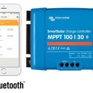 Regulador de Carga SmartSolar MPPT 100/30 (12/24V-30A) con Bluetooth