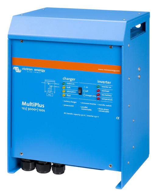 Inversor Cargador Victron Energy MultiPlus 12/3000/120-50
