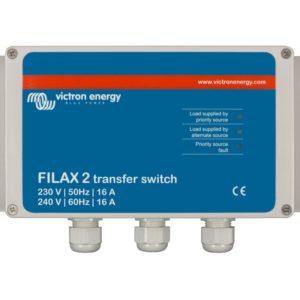 Conmutador de Transferencia Victron Energy Filax 2