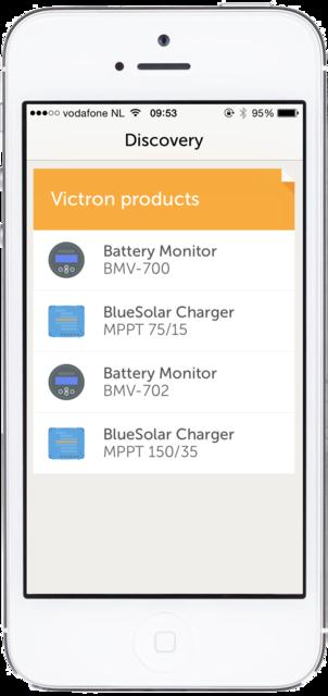 Conexión VE.Direct Bluetooth Smart