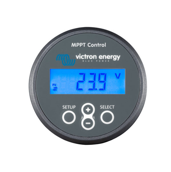Monitor para reguladores Victron Energy MPPT Control