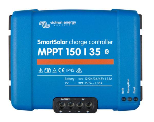 Regulador de Carga SmartSolar MPPT 150/35 (12/24/36/48V-35A) con Bluetooth