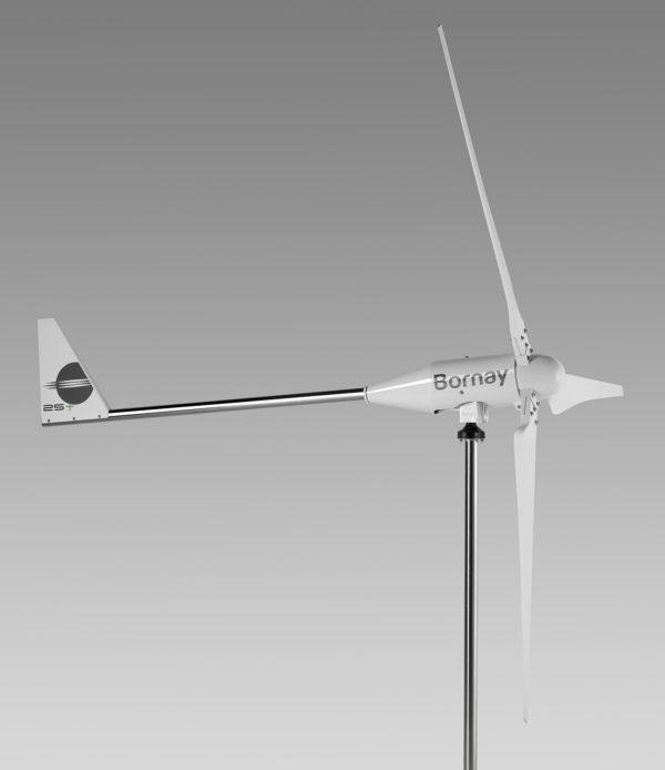 Aerogenerador Bornay Wind 25.3 + 5000W