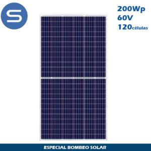 Placa Solar SCL 200Wp 60V Especial Bombeo Solar