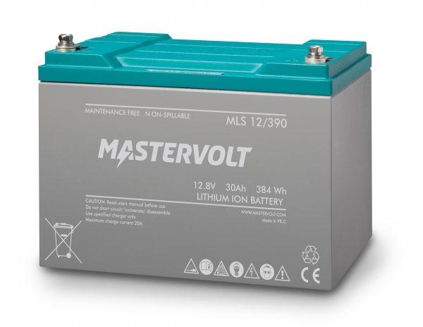 Batería de Litio Mastervolt MLS 12/390 (30Ah)