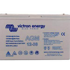 Batería Victron Energy AGM Super Cycle 12V 38Ah