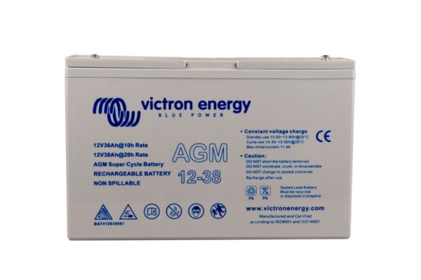 Batería Victron Energy AGM Super Cycle 12V 25Ah