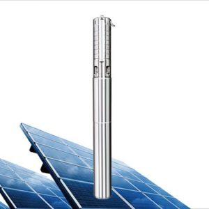 Bomba Sumergible Solar AC/DC Aquaroyal 1CV hasta 5,7 m3 y 100 m