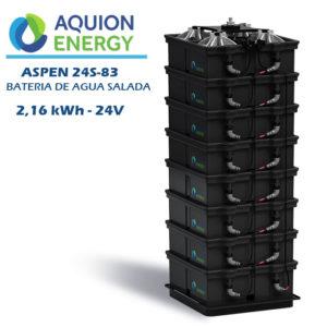 Batería de Agua Salada Aspen 24S-83 (2,16kWh-24V)