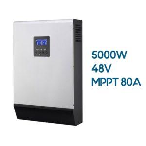 Inversor Cargador AXPERT MKS 5000W 48V con Regulador MPPT 80A