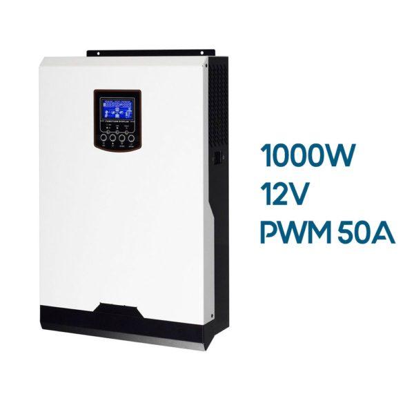 Inversor Cargador AXPERT VP 1000W 12V con Regulador PWM 50A