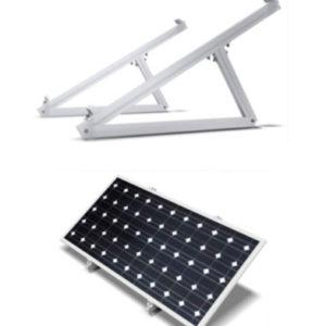 Estructura Inclinada Placas Solares 60 Células para Suelo CH915