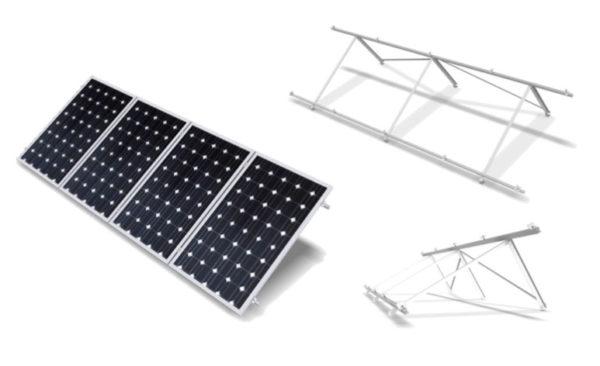Estructura Inclinada Soporte Placas Solares hasta 72 Células CVA915XL