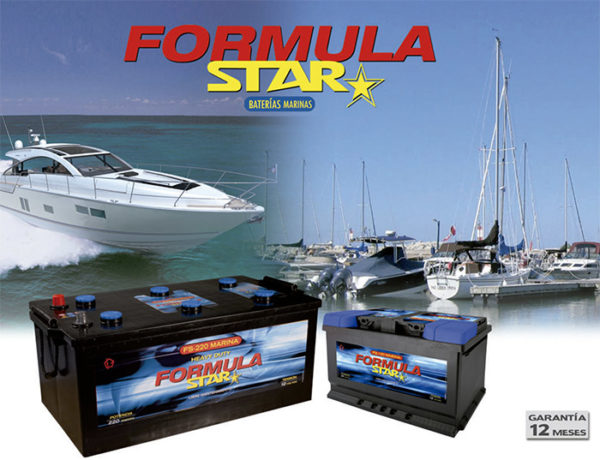 Batería Formula Star FS 60 Marina 60Ah