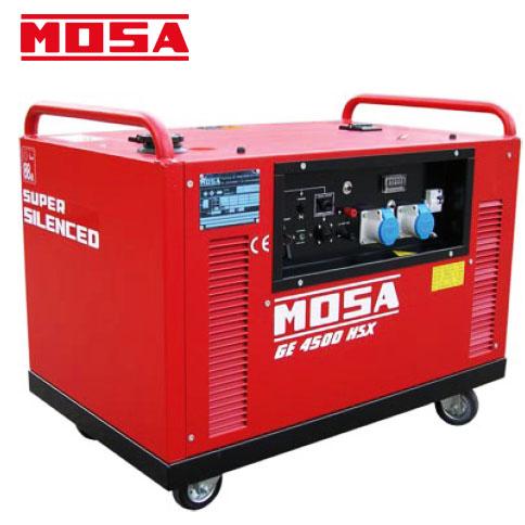 Grupo electrógeno insonorizado MOSA GE-4500 HSX/EAS