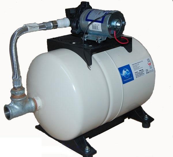Grupo de presión Shurflo 2088-474-144 24V + Acumulador PWB‐20 litros SHURflo