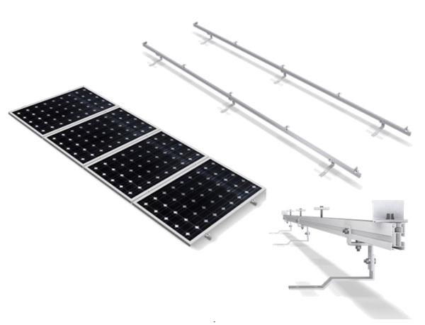 Estructura Soporte Placas Solares Para Cubierta De Teja Con Salvatejas