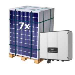 Kit Bombeo Solar para bombas AC de 1CV – 1500W