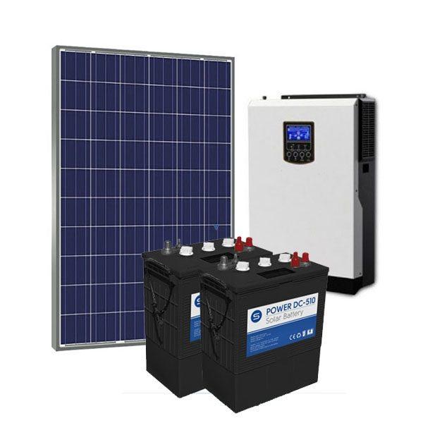 Kit Solar Fotovoltaico 1000Wh/dia Power