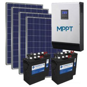 Kit Solar Fotovoltaico 5500Wh/dia Power