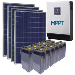 Kit Solar para Vivienda Habitual 6 kWh/dia