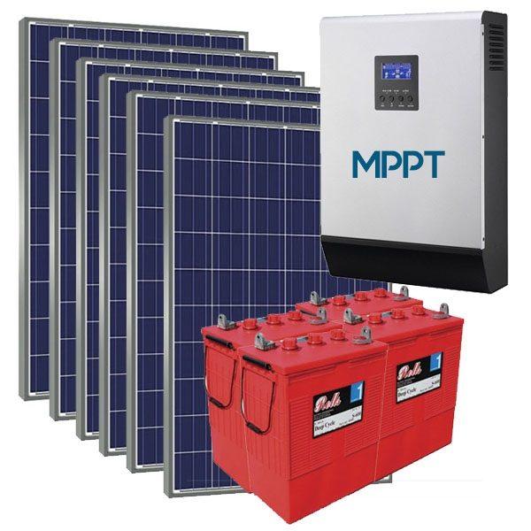 Kit Solar Fotovoltaico 8000wh/dia MPPT