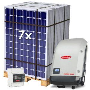 Kit Solar de Autoconsumo 2240Wp Inyección a red 0