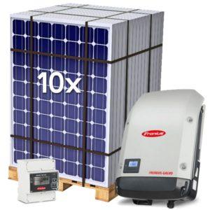 Kit Solar de Autoconsumo 3200Wp Inyección a red 0