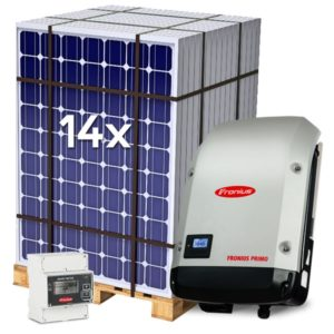 Kit Solar de Autoconsumo 4.4kWp Inyección a red 0