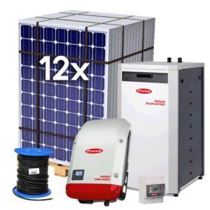 Kit Solar de Autoconsumo con Batería de Litio Fronius Energy Package 3kW – Trifásico