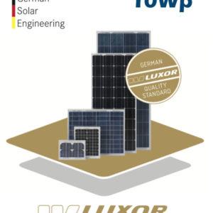 Placa Solar 10W Luxor SOLO LINE M36/10W