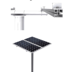 Estructura Monoposte Placas Solares hasta 72 Células MV915