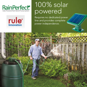 Bomba Solar Rule Rainperfect Rain Barrel Pump