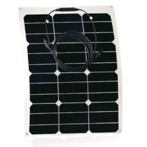 Placa Solar Flexible Curvable RED SOLAR 35W-18V