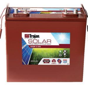 Batería Solar Trojan AGM SAGM 12V 205A