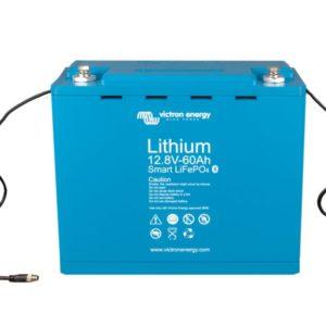 Batería de Litio 12,8V 60Ah Serie Smart
