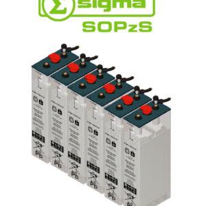 Batería Solar Sigma 4 SOPzS 500 Translúcida 503Ah (C120)