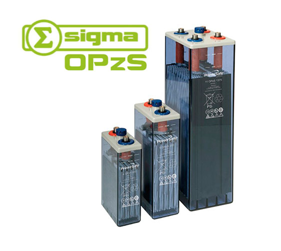 Batería Solar Estacionaria Sigma 5 OpZS 350 544Ah (C100)