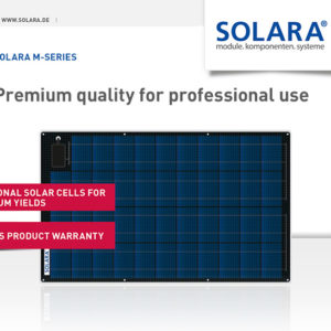 Placa Solar Semi Flexible 41Wp Solara M-Series S170P43 Marine