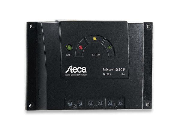 Regulador de Carga Steca Solsum 10.10F 10A 12/24v