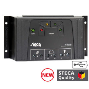Regulador de Carga Steca Solsum 4040 – 40A 12/24V