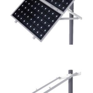Estructura sobre Poste Placas Solares hasta 72 Células STP915