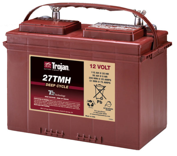 Batería Trojan 27TMH 128A 12V