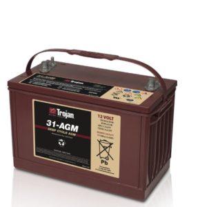 Batería AGM Trojan 31-AGM 111A 12V