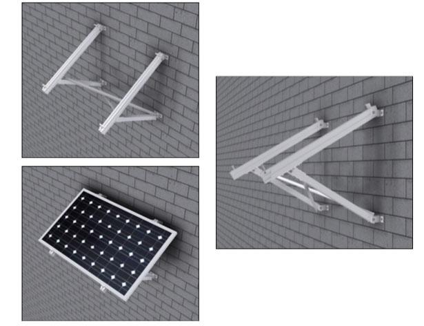 Estructura Placa Solar Soporte para Pared WH915  d64c8798bf36
