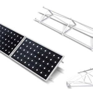 Estructura Inclinada Soporte Placas Solares hasta 60 Células CHE915